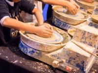taller de alfarería en Mima