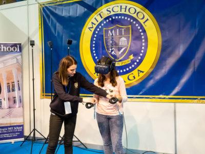 Actividad de RV Mit school en Mima
