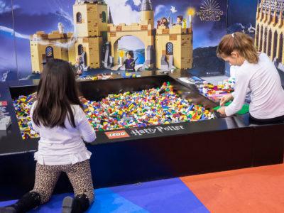 niños aprendiendo en mima con Lego
