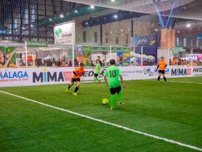 Torneo de fútbol 7 en Mima