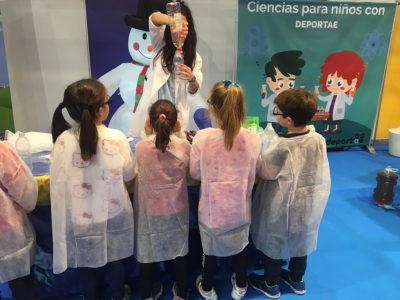 talleres en Mima. taller de ciencia