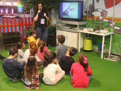 Taller educativo de Bioparc en Mima