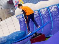 Actividad de surf en Mima